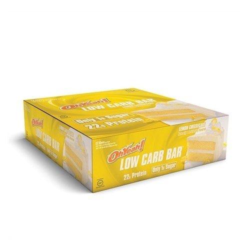 Oh Yeah Low Carb Bar - Lemon Cheesecake (caja 12 unid.)
