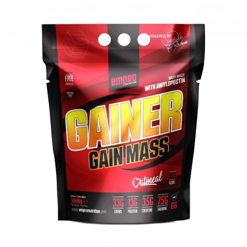 GAINER GAIN MASS 3 KG BOLSA