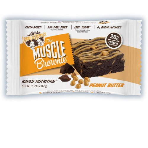 MUSCLE BROWNIE- PEANUT BUTTER - Lenny & Larry's