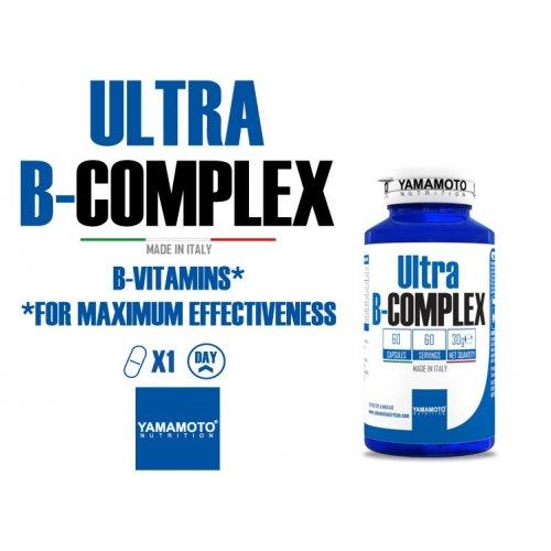 Ultra B-COMPLEX 60 cápsulas