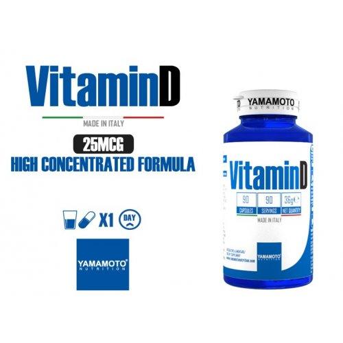 Vitamin D 90 cápsulas Yamamoto