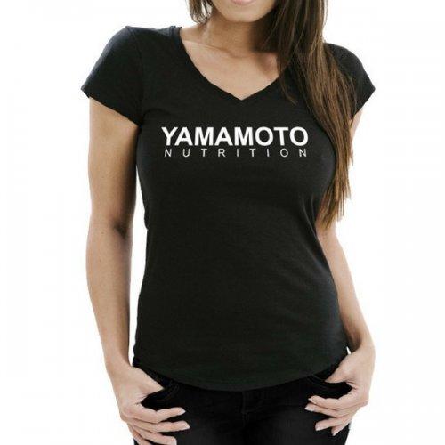 Camiseta mujer negra Yamamoto®