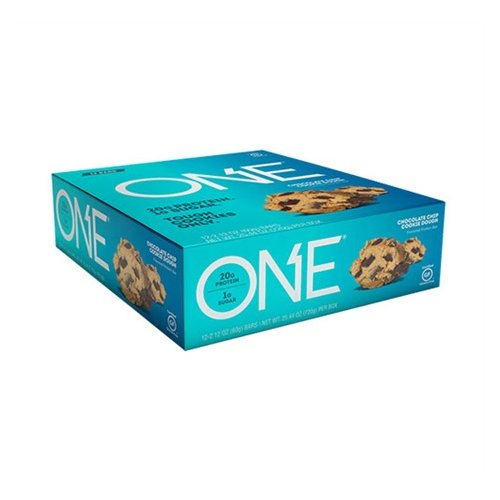 Oh Yeah Low Carb Bar - Choco Chip (caja 12 unid.)