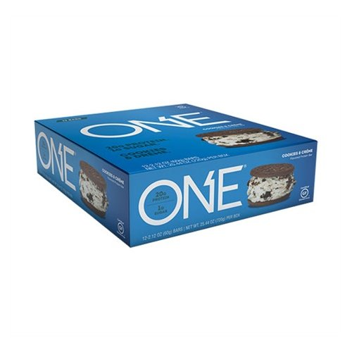 Oh Yeah Low Carb Bar - Cookies & Cream (caja 12 unid.)