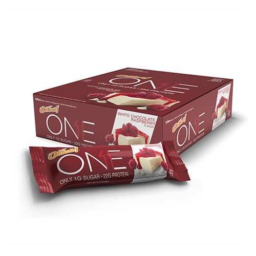 Oh Yeah Low Carb Bar - White Chocolate & raspberry (caja 12 unid.)