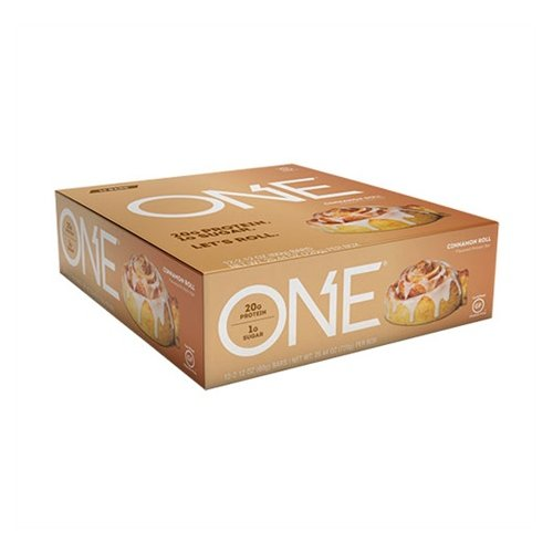 Oh Yeah Low Carb Bar - CINNAMON ROLL (caja 12 unid.)