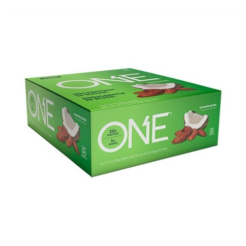 Oh Yeah Low Carb Bar - ALMOND BLISS (caja 12 unid.)