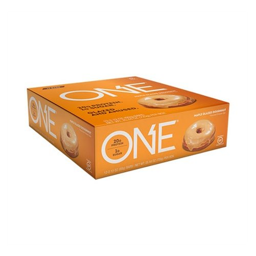 Oh Yeah Low Carb Bar - MAPLE GLAZED DOUGHNUT (caja 12 unid.)