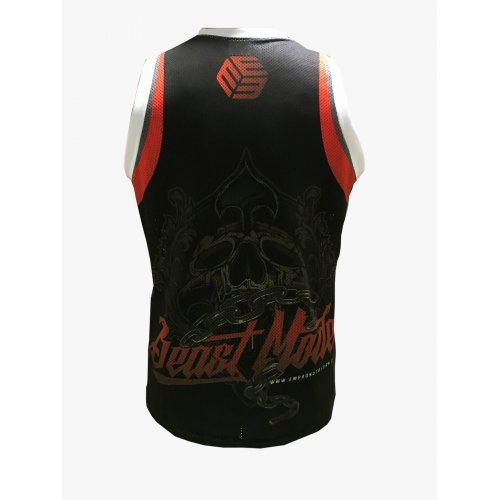CAMISETA BASKET EMPRONABLE CALAVERA