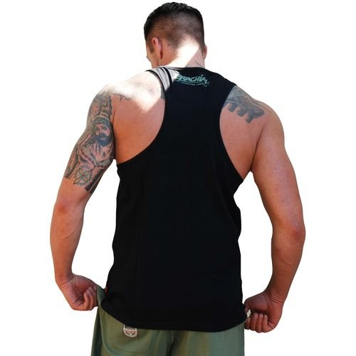 "BRACHIAL TANK-TOP ""RAGE"" BLACK"