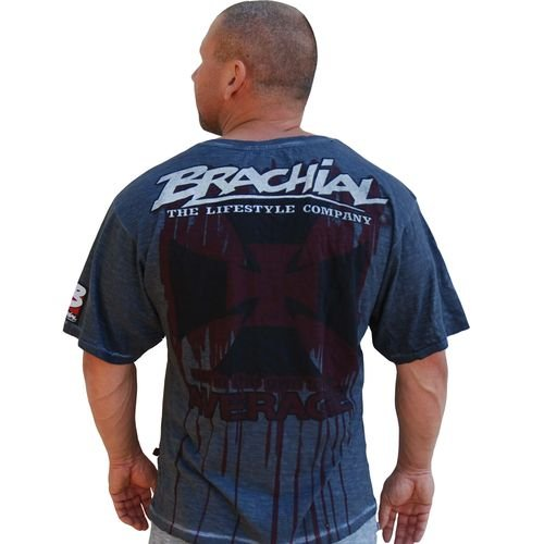 "BRACHIAL T-SHIRT ""TWISTER"" ANTRACITA"