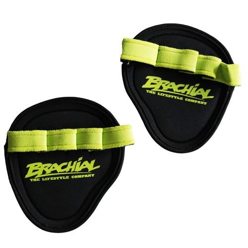 Almohadillas Brachial para el gym verde o naranje
