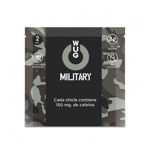 Chicles WUG Military Cafeína