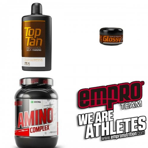 PACK Top Tan + Glossy + Amino Complex