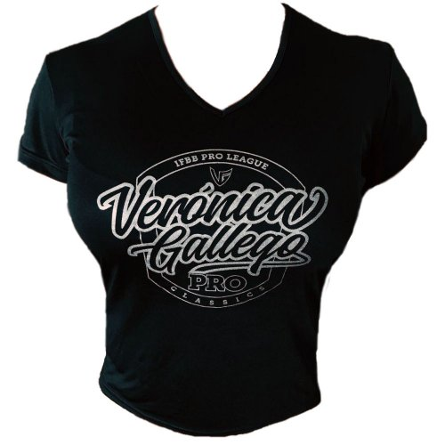 T-SHIRT VG- WORLD CHAMPION NEGRA-DORADA