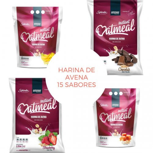 Harina de AVENA 1 kg. | Oatmeal Instant