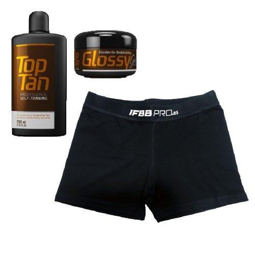 PACK Top Tan + Glossy + Bañador