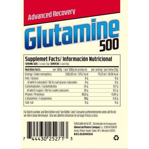 Comprar Glutamina 500