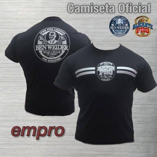 Camiseta Oficial Ben Weider/AlicantePro
