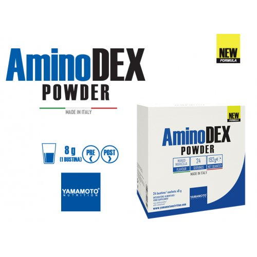 AminoDEX® POWDER 24 x 8 gramos