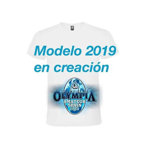 Camiseta Oficial Mr Olympia Amateur Spain 2019