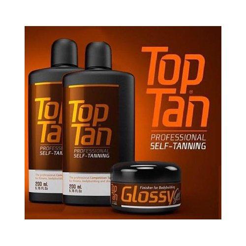 PACK 2 TOP TAN + GLOSSY GEL