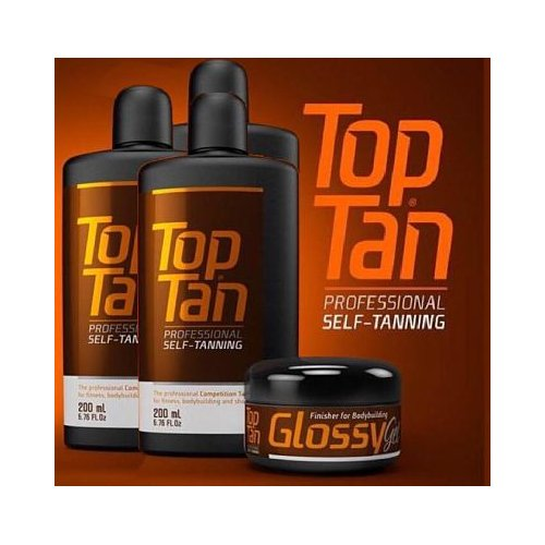 PACK 3 TOP TAN + GLOSSY GEL