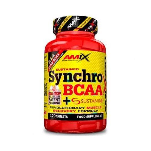 SYNCHRO BCAA PLUS SUSTAMINE 120 CAPS