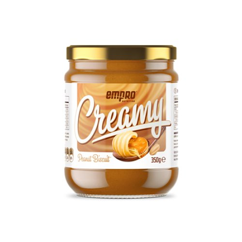 CREMA DE CACAHUETE NATURAL CON GALLETA 350 GR