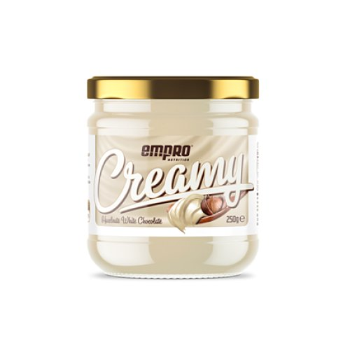 CREMA DE AVELLANA NATURAL CON CHOCOLATE BLANCO 250 GR