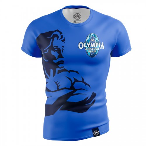 Camiseta hombre Mr. Olympia Amateur Mod. Weider