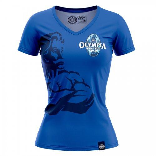 Camiseta mujer Mr. Olympia Amateur Mod. Weider