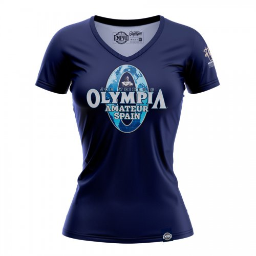 Camiseta Mr. Olympia Amateur mod. LOG mujer