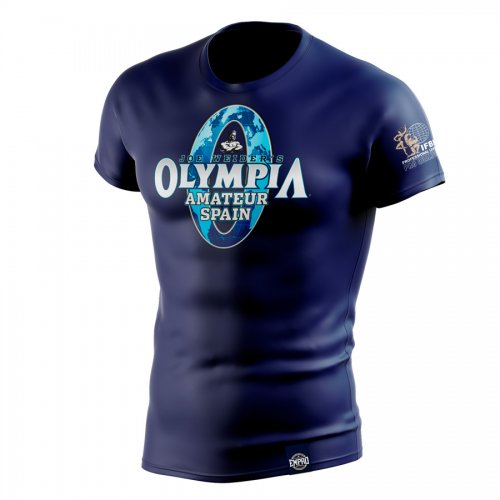 Camiseta hombre Mr. Olympia Amateur Mod. LOG