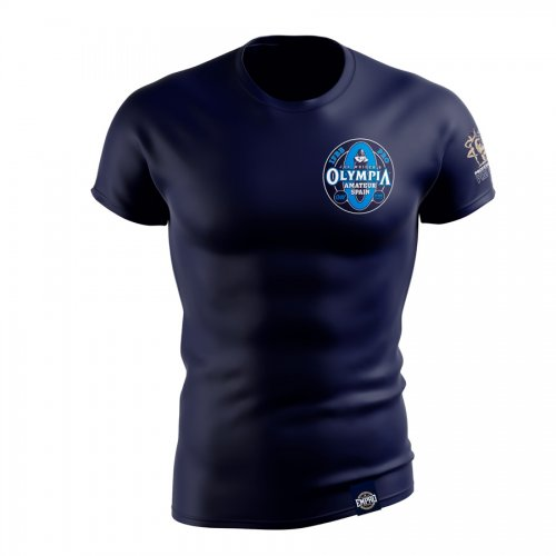 Camiseta hombre Mr. Olympia Amateur Mod. log2