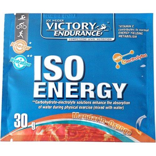 ISO ENERGY MANDARINA. NARANJA SOBRES