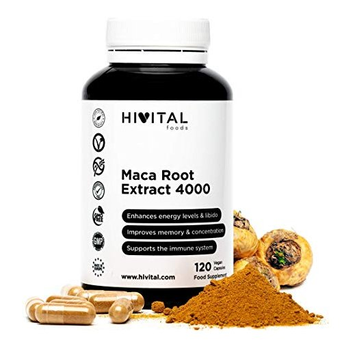 MACA ROOT EXTRACT 4000 HIVITAL