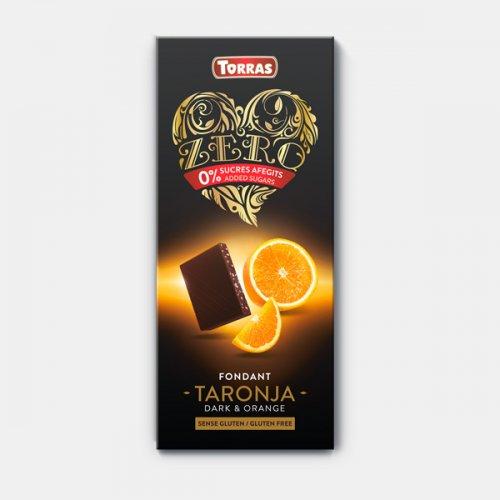 ZERO TORRAS CHOCOLATE BLANCO CON FRESAS
