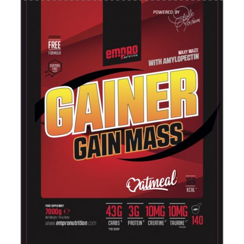 GAINER GAIN MASS 7 KG BOLSA