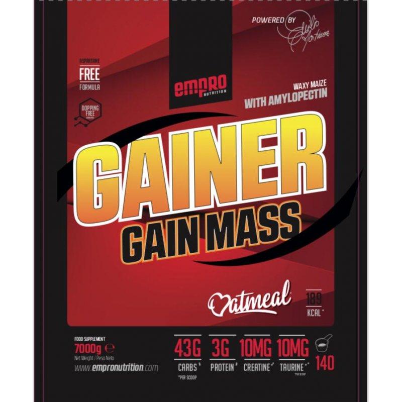 GAINER GAIN MASS 7 KG
