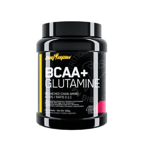BCAA + GLUTAMINA 500 GR BIGMAN