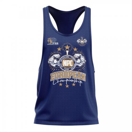 Camiseta Tank Top serie limitada European Championship