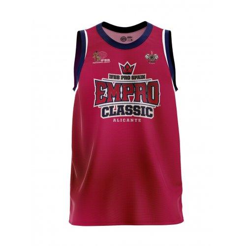 Camiseta Oficial Basket Empro Classic Red