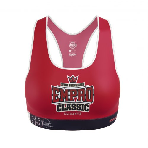 Top Oficial Empro Classic Red