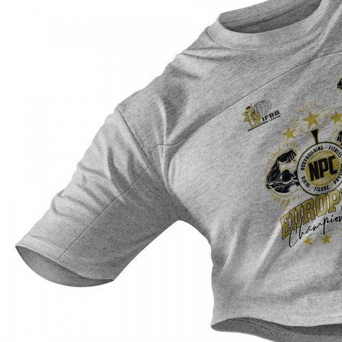 Camiseta Oficial Culturista European Championship