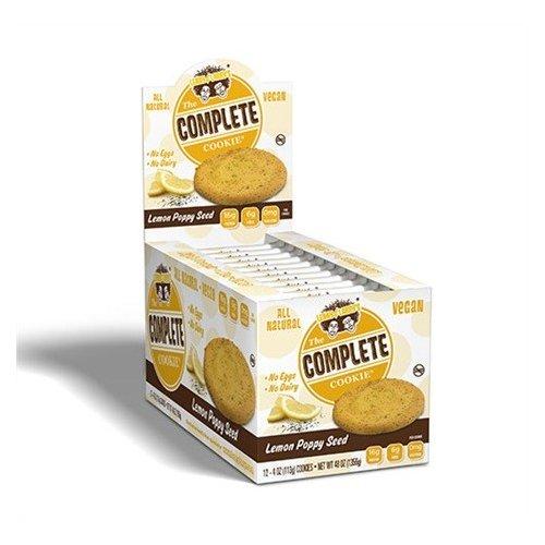 COMPLETE COOKIES- Lemon Poppy Seed (Caja 12 unid.)