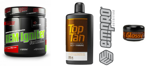 Pack Top Tan Empronutrition